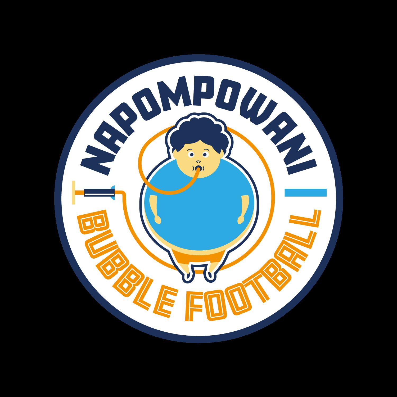 Logo Napompowani Bubble Football
